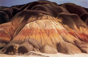 Grey Hills. (Indianapolis Museum of Art/Georgia O'Keeffe)