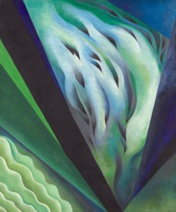 Blue and Green Music. (Art Institute of Chicago/Georgia O'Keeffe)