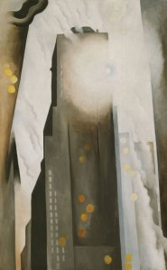 The Shelton with Sunspots, N.Y. (Art Institute of Chicago/Georgia O'Keeffe)