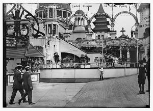 The Teaser at Luna Park. (Coney Island, early 1900s). (Unknown)