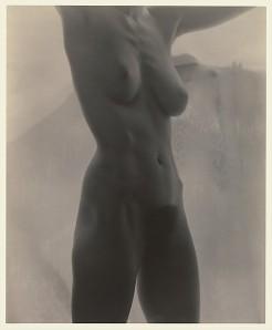 Georgia O'Keeffe—Torso. (Metropolitan Museum of Art/Alfred Stieglitz)