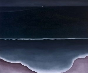 Wave, Night. (Addison Gallery of American Art/Georgia O'Keeffe)